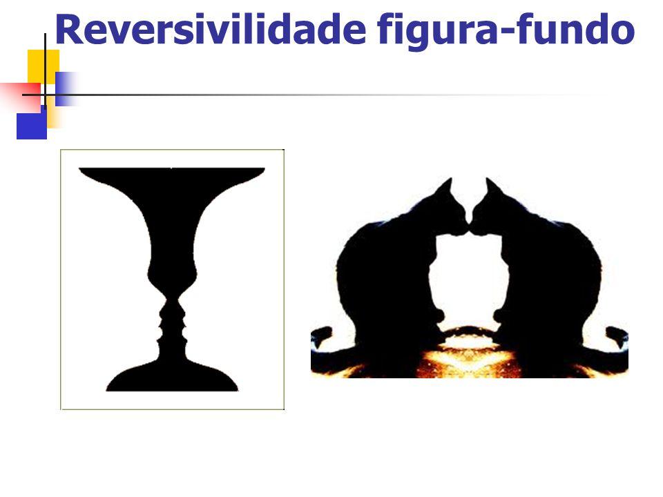 Organização Percetiva (cont.) Ambiguidade da figura