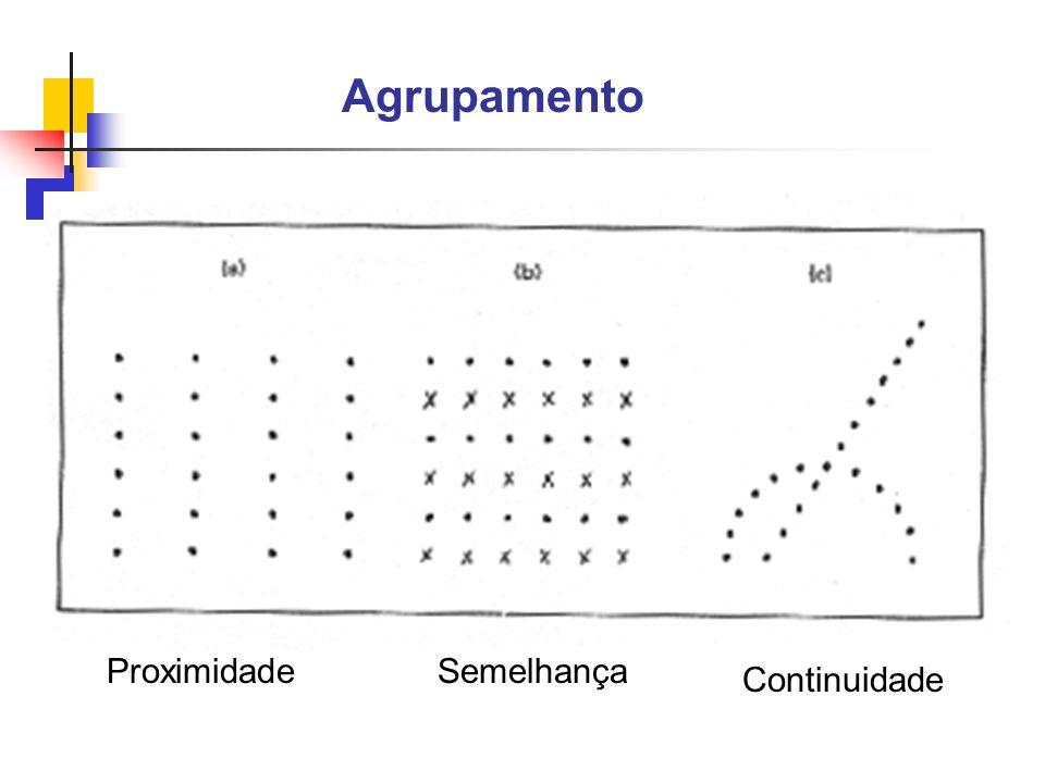 Agrupamento ProximidadeSemelhança Continuidade