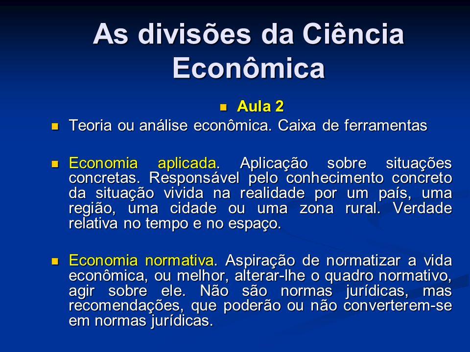 Doutrina econômica.