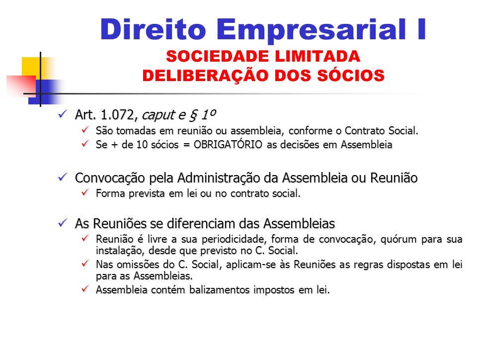 Art.1.072, caput e § 1º Art.