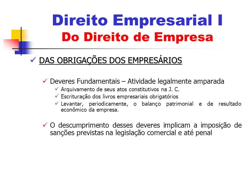 Do Dever de Inscrição Do Dever de Inscrição Inscrição Obrigatória do Empresário Individual no RPEM Requerimento à J.C.