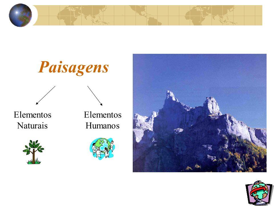 Paisagens Elementos Naturais Elementos Humanos