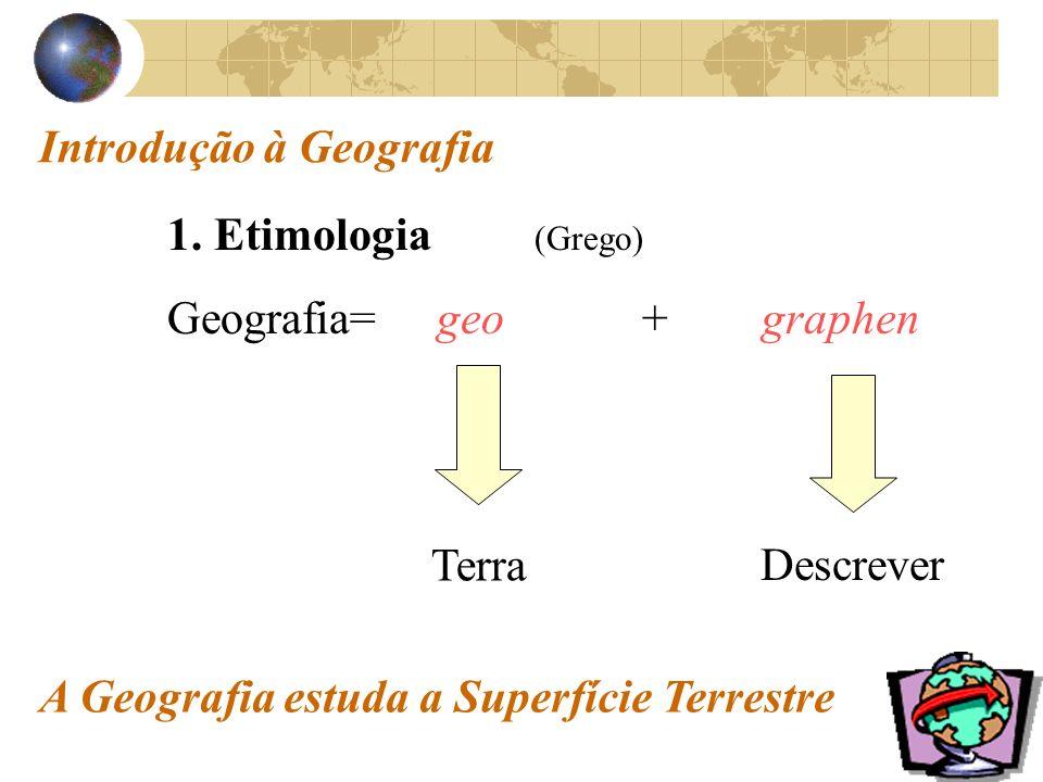 Introdução à Geografia 1.