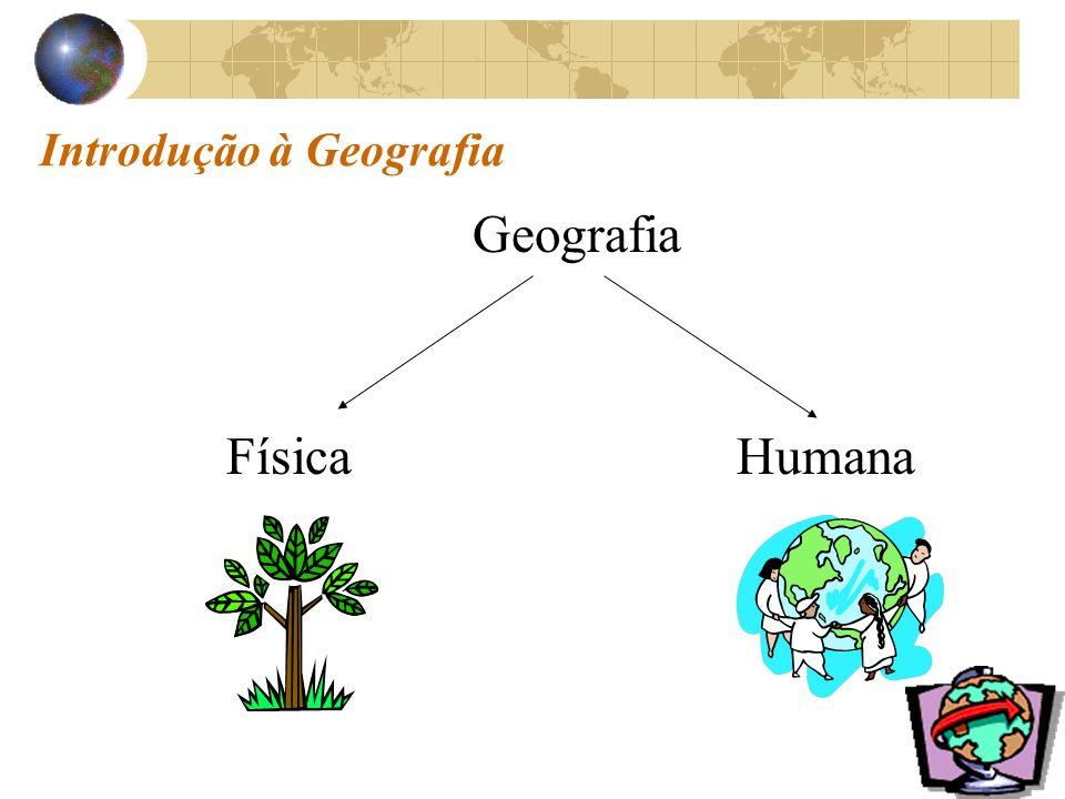 Introdução à Geografia Geografia FísicaHumana