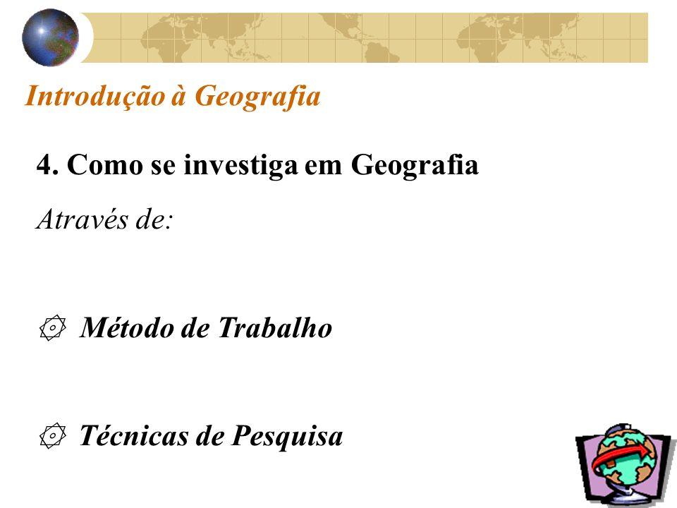 Introdução à Geografia 4.