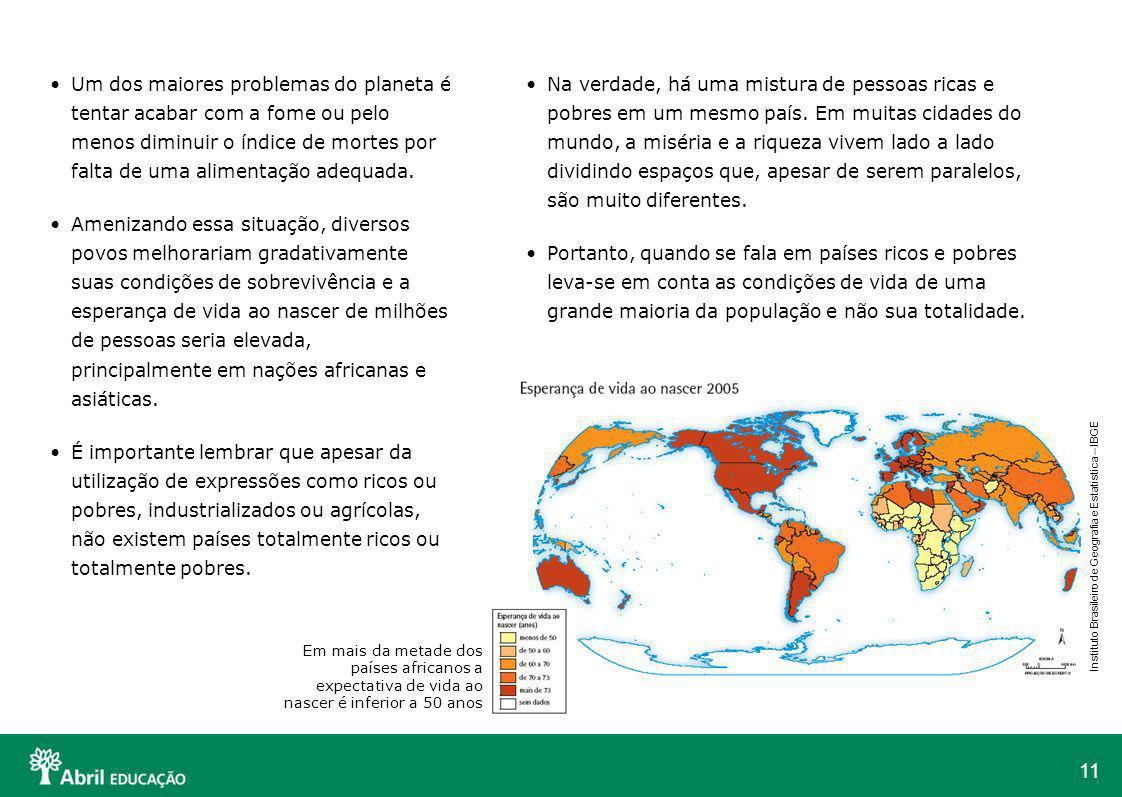 11 Um dos maiores problemas do planeta é tentar acabar com a fome ou pelo menos diminuir o índice de mortes por falta de uma alimentação adequada. Ame