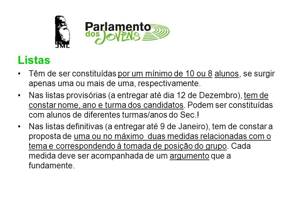 Os dias 11, 12 e 14 de Janeiro ficam reservados para a campanha eleitoral.