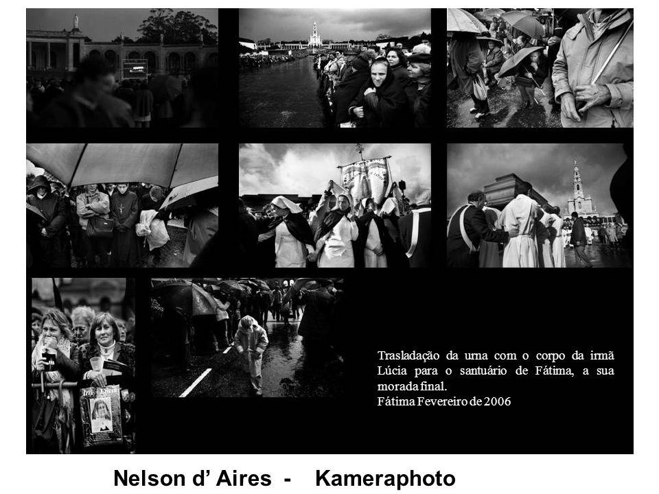 Nelson d Aires - Kameraphoto Trasladação da urna com o corpo da irmã Lúcia para o santuário de Fátima, a sua morada final.