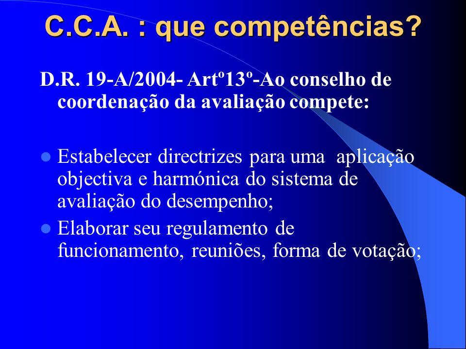 C.C.A. : que competências. D.R.