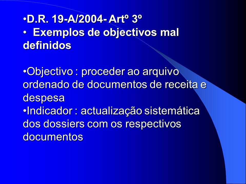 D.R. 19-A/2004- Artº 3ºD.R.