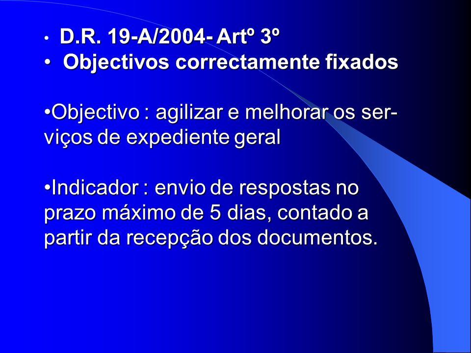 D.R. 19-A/2004- Artº 3º D.R.