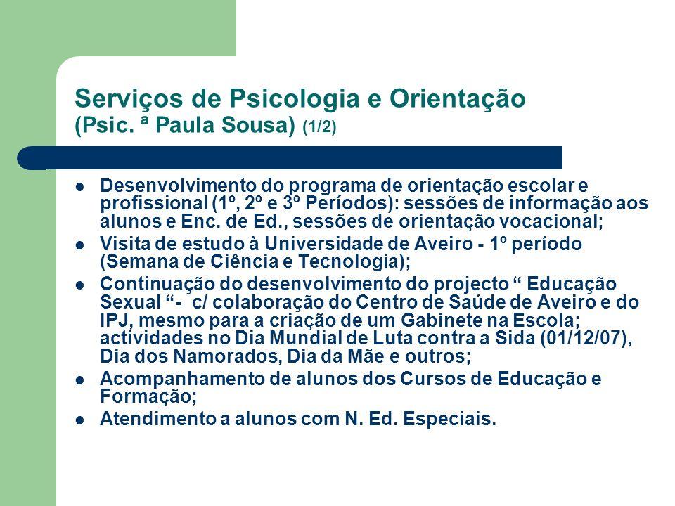 Serviços de Psicologia e Orientação (Psic.