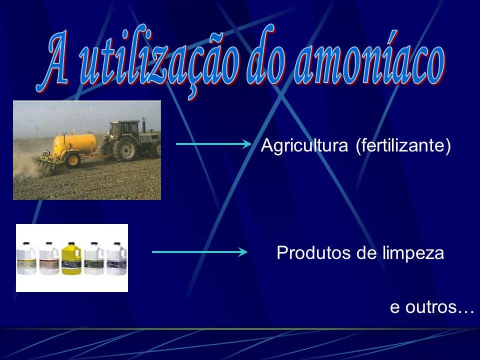 Agricultura (fertilizante) Produtos de limpeza e outros…