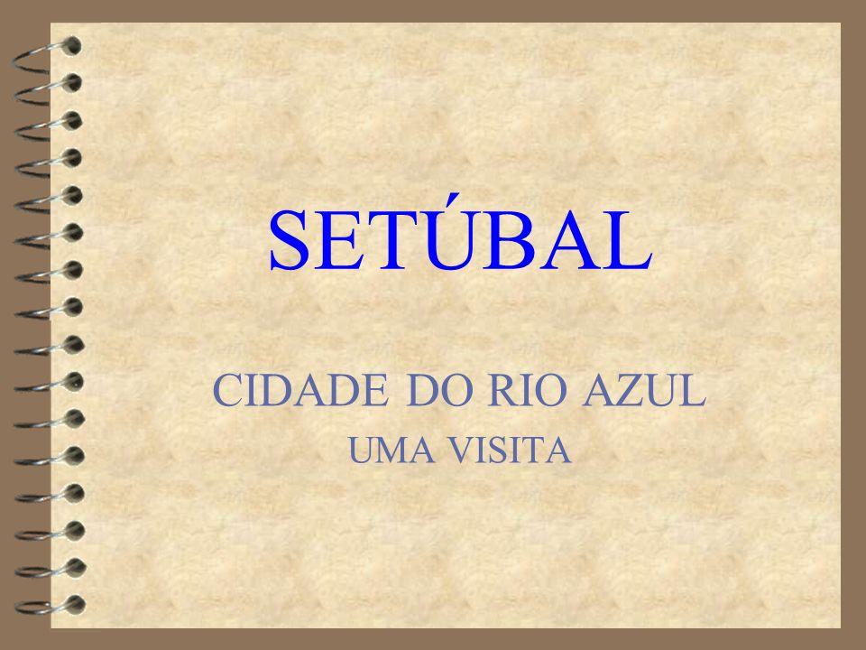 SETÚBAL CIDADE DO RIO AZUL UMA VISITA
