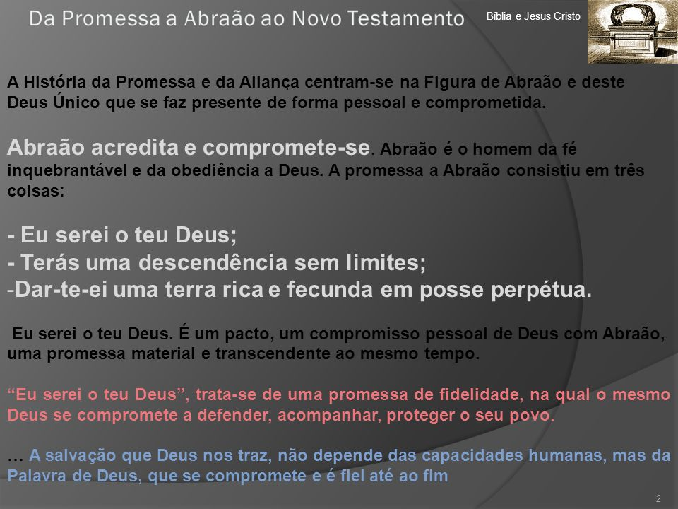 Bíblia e Jesus Cristo Unidade Didáctica 8.Novo Testamento 23 4.
