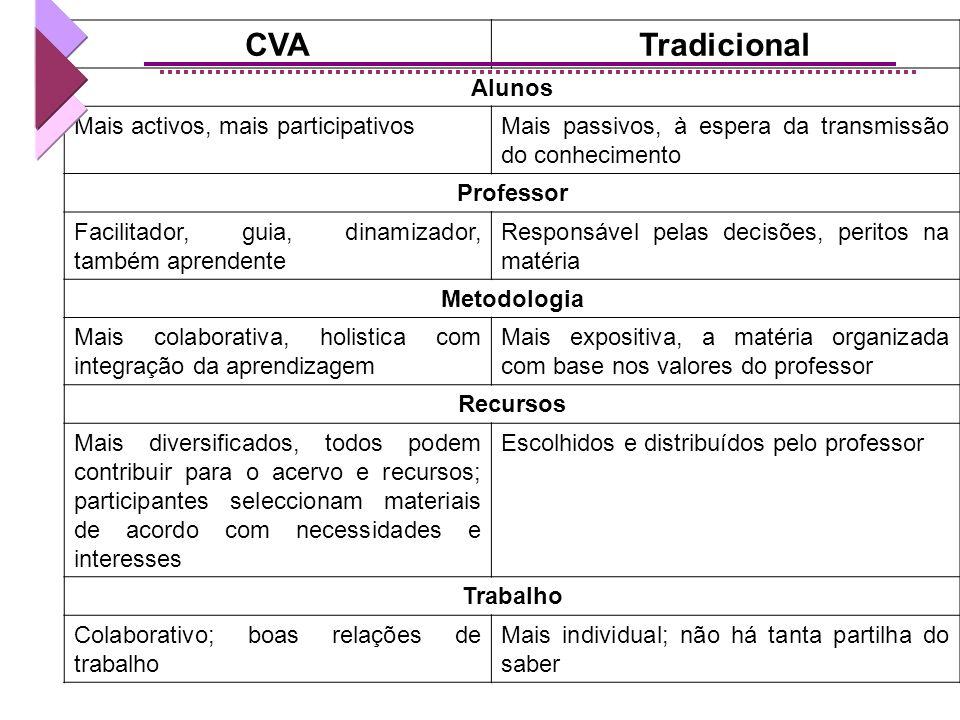Sucesso da experiência Competências Metacognitivas (interacção com o contexto de aprendizagem) Competencias colaborativas (interacção com o professor
