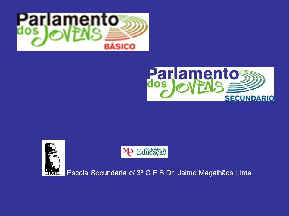 Escola Secundária c/ 3º C E B Dr. Jaime Magalhães Lima