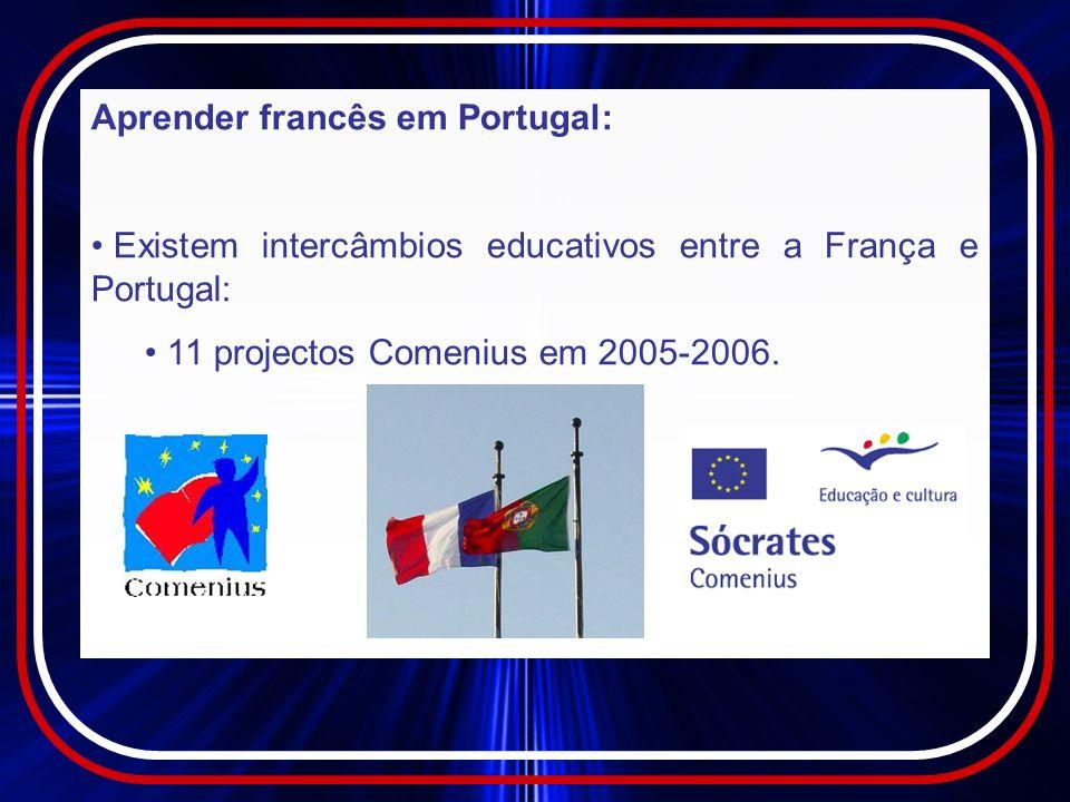 Para um português, o francês não é difícil.