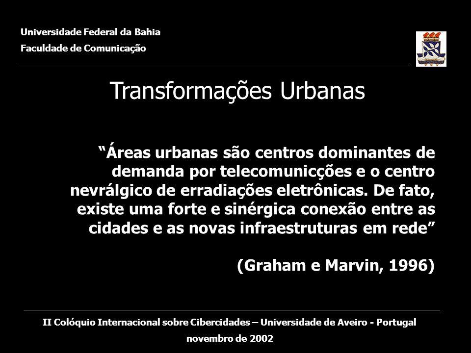 Universidade Federal da Bahia Faculdade de Comunicação II Colóquio Internacional sobre Cibercidades – Universidade de Aveiro - Portugal novembro de 2002 O que é E-Gov.