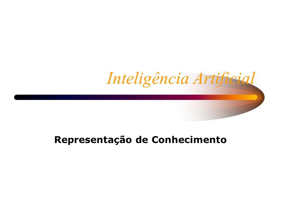 Inteligência Artificial Representação de Conhecimento