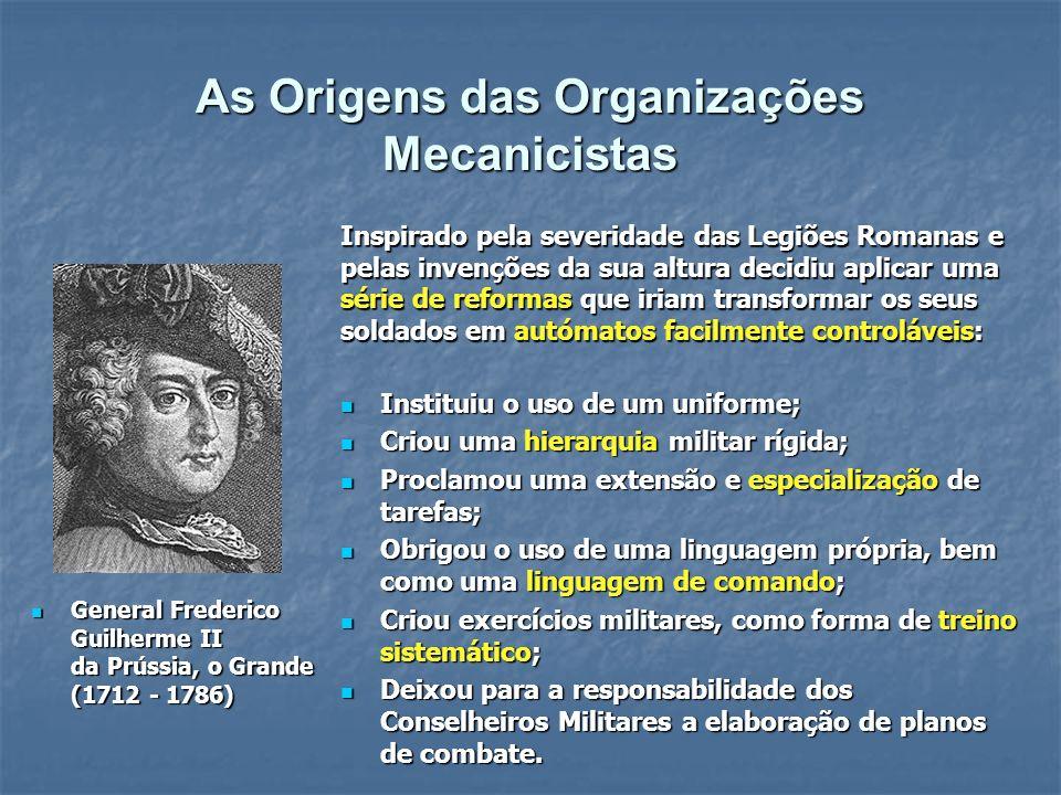 Muitos dos princípios subjacentes a estas ideias foram utilizados na Revolução Industrial do século XIX.