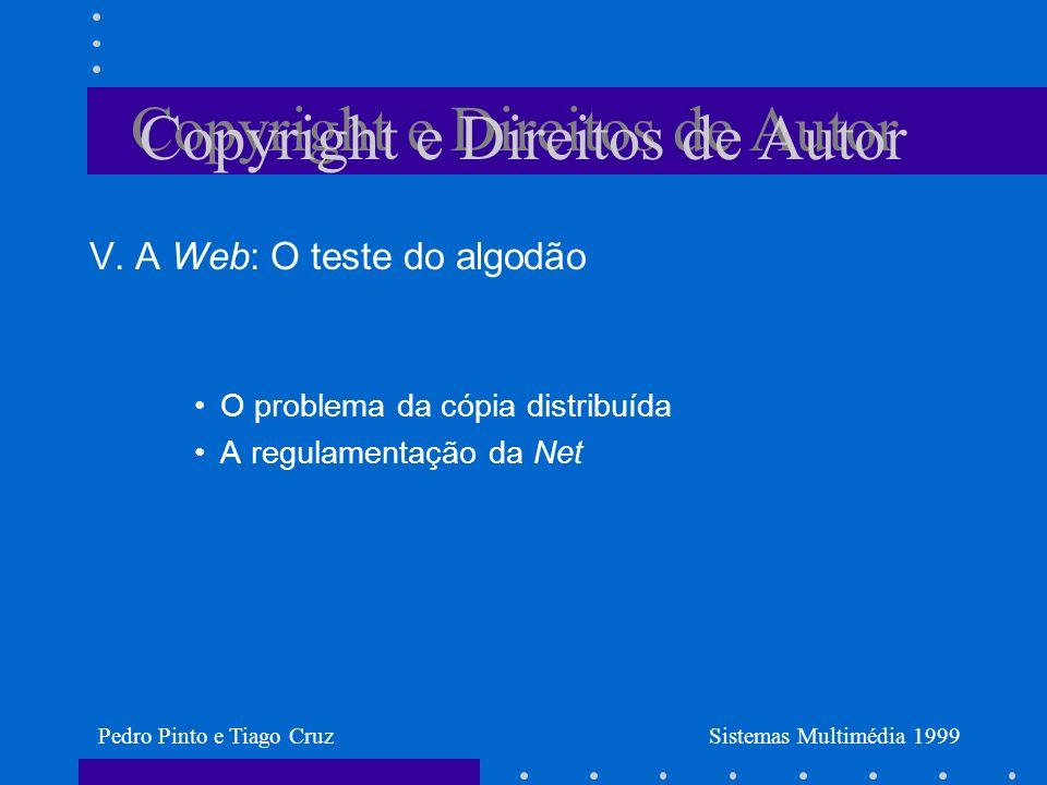 Copyright e Direitos de Autor V.