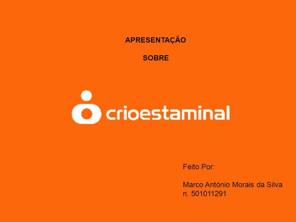 Feito Por: Marco António Morais da Silva n. 501011291 APRESENTAÇÃO SOBRE