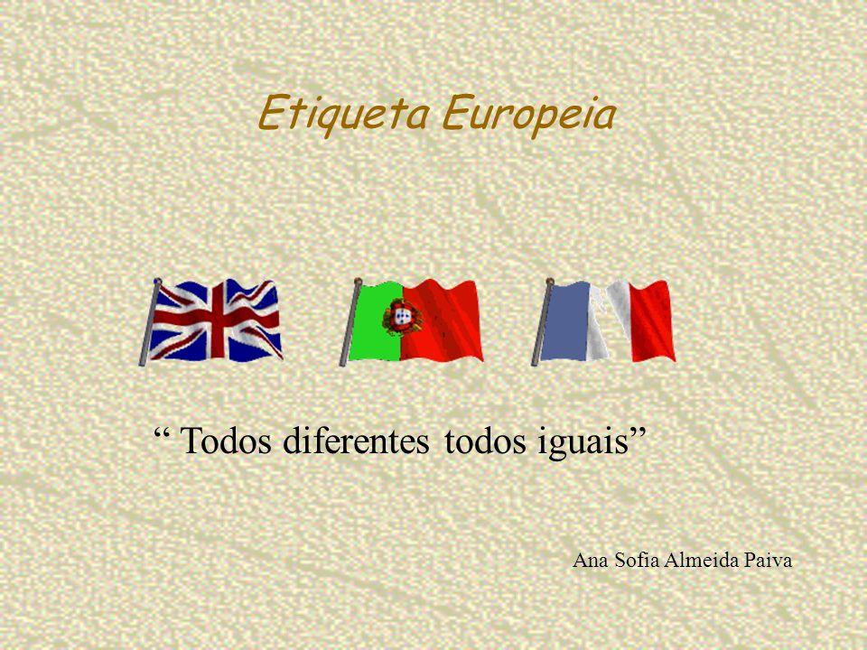 Etiqueta Europeia Todos diferentes todos iguais Ana Sofia Almeida Paiva