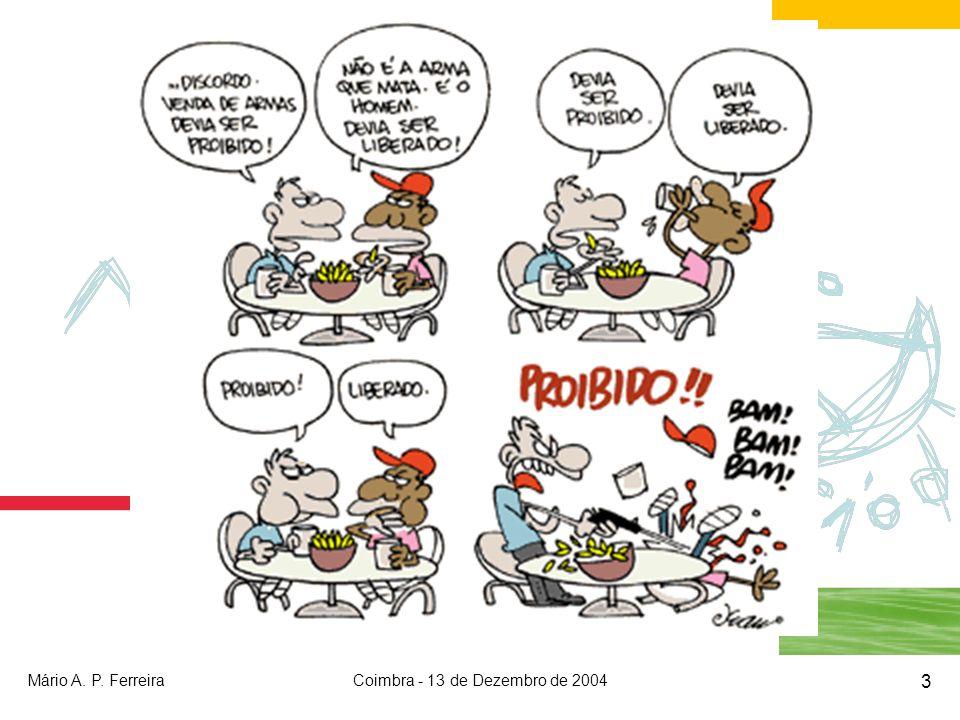 Mário A. P. FerreiraCoimbra - 13 de Dezembro de 2004 3
