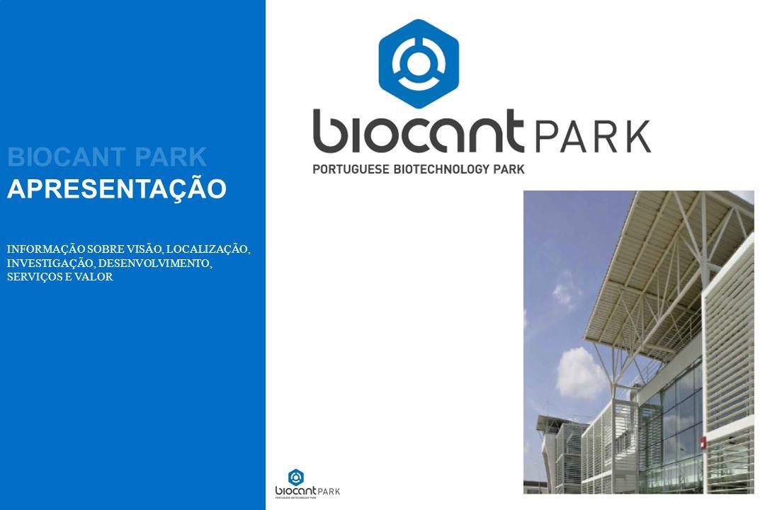 BIOCANT PARK A NOSSA VISÃO 02 A biotecnologia é um sector de grande competitividade e exigência que necessita de um forte suporte científico e tecnológico, que não está habitualmente acessível aos bioempreendedores.