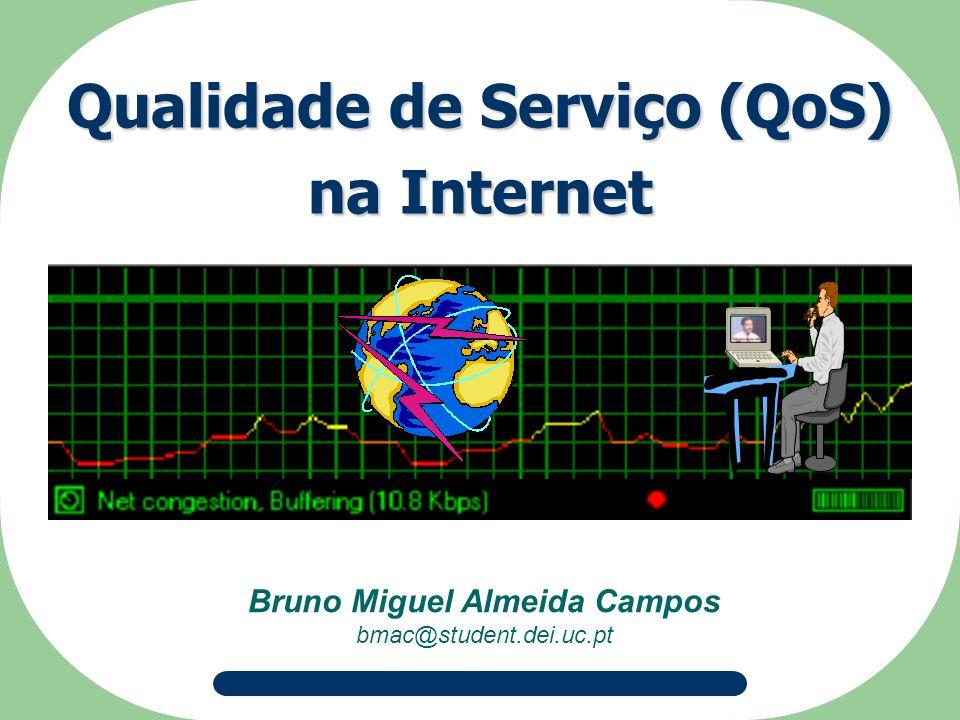 Bruno Miguel Almeida Campos bmac@student.dei.uc.pt Qualidade de Serviço (QoS) na Internet