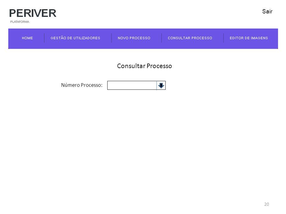 Consultar Processo Número Processo: 20 Sair