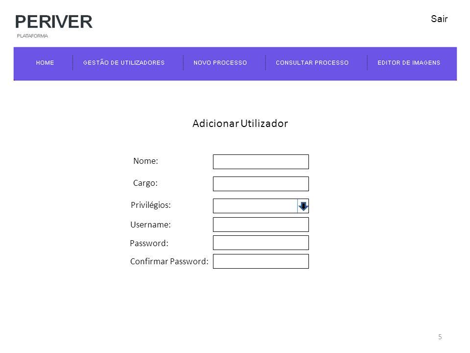 Novo Processo Guardar Anexos Documento:Browse NomeOpções Img1.jpg Ficheiros que se encontram anexados Anexar outros documentos: 16 Sair