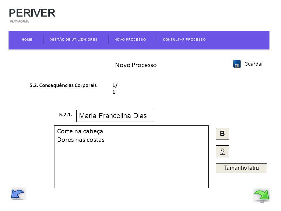 Novo Processo Guardar 5.2.