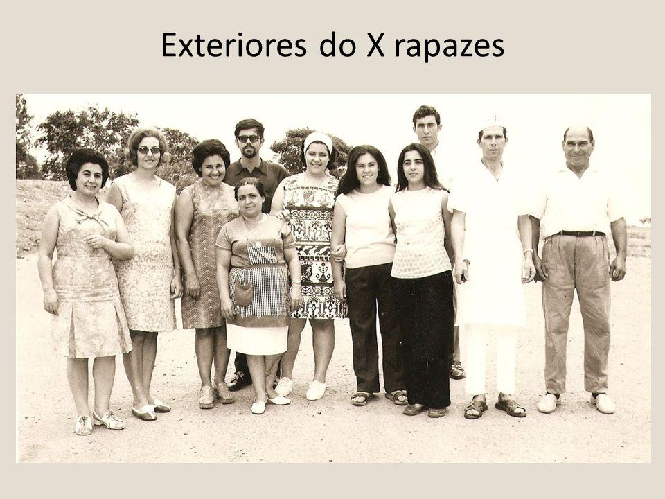 Exteriores do X rapazes