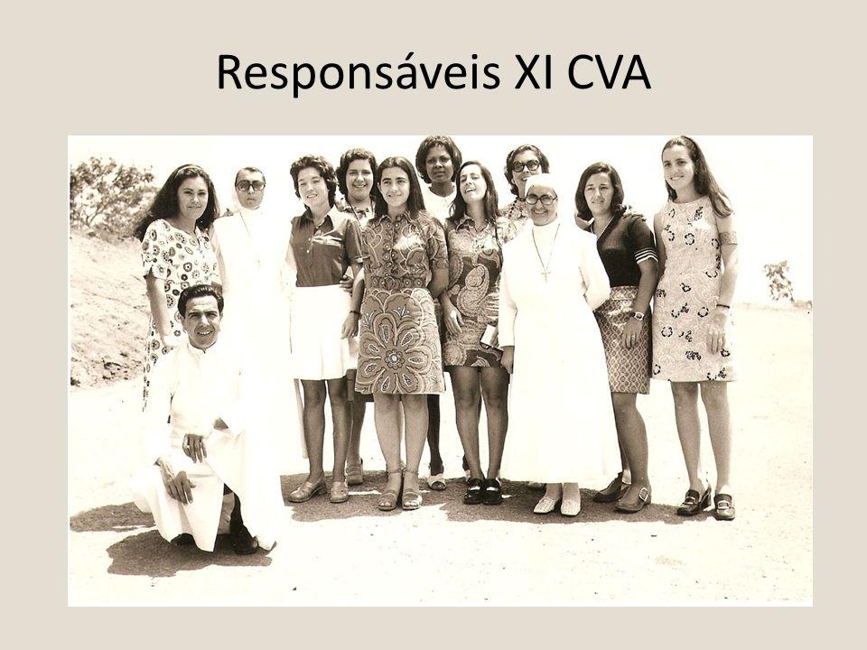 Responsáveis XI CVA