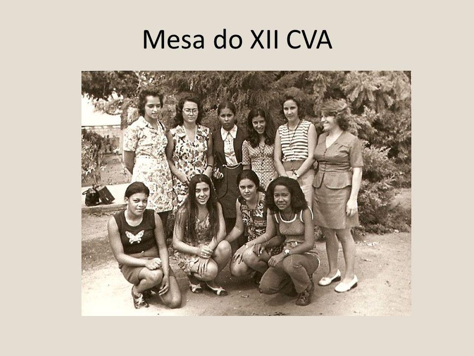 Mesa do XII CVA