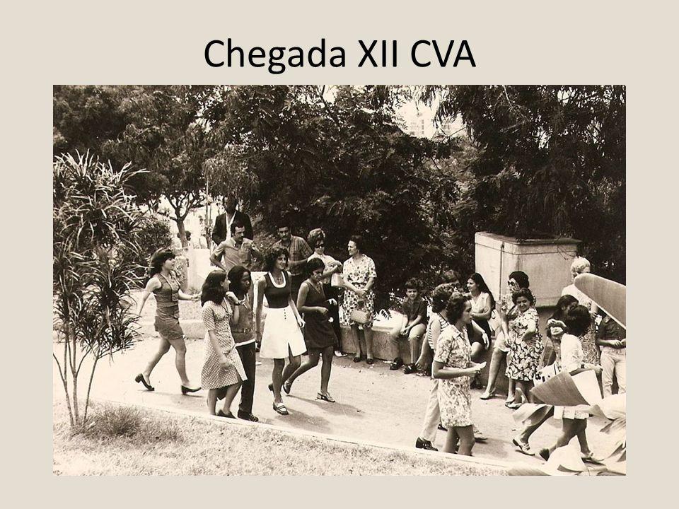 Chegada XII CVA