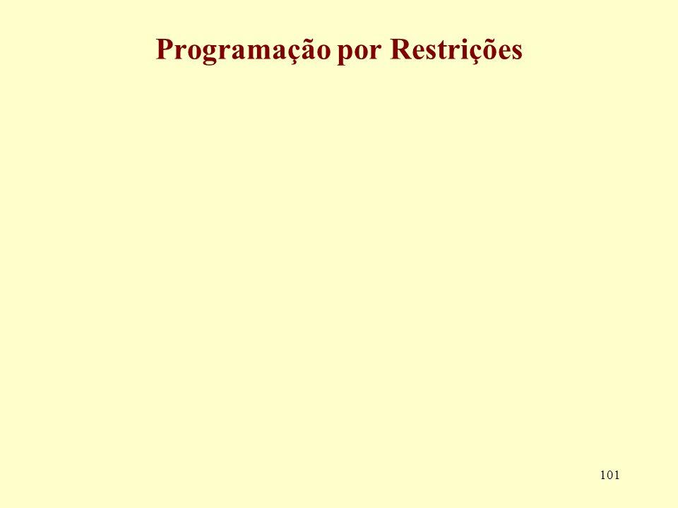 101 Programação por Restrições