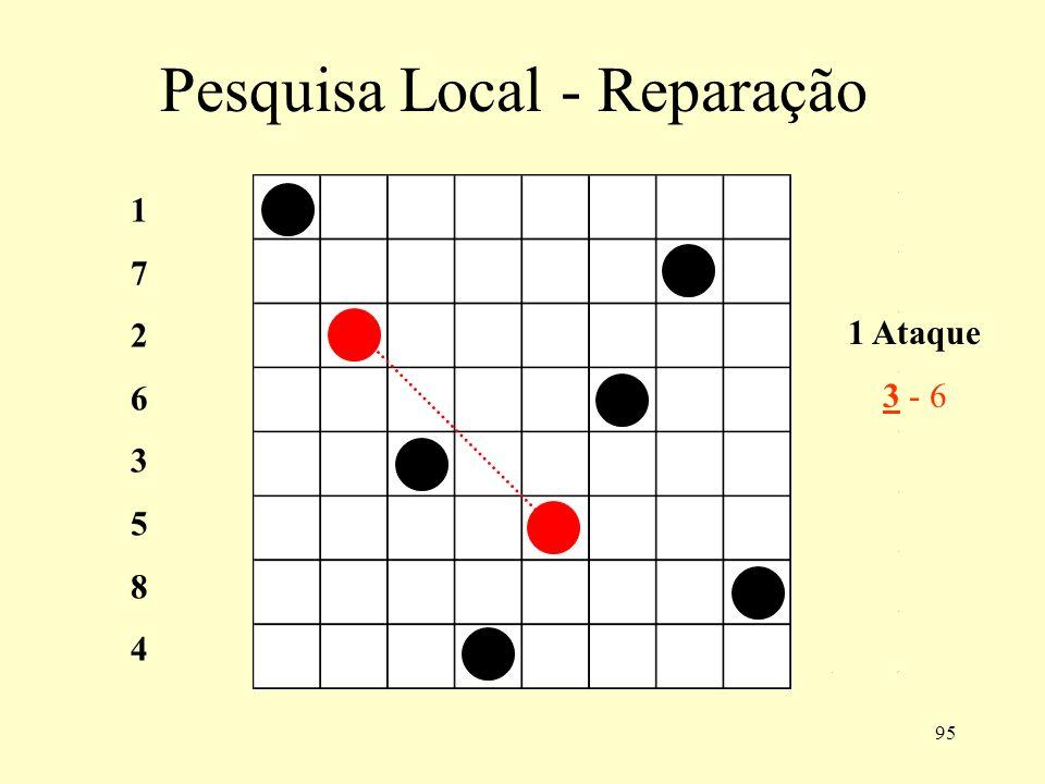 95 Pesquisa Local - Reparação 1 Ataque 3 - 6 1726358417263584