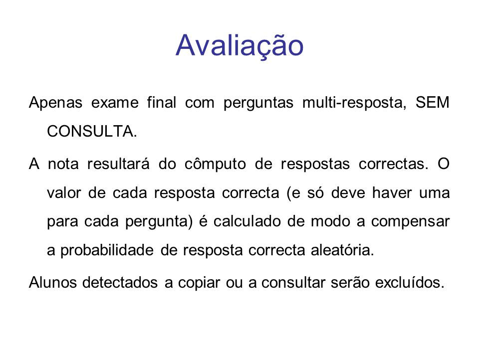 Referências Gerais ONLINE Computer science - Wikipedia, the free encyclopedia http://en.wikipedia.org/wiki/Computer_science Webopedia - The only online dictionary and search engine you need for computer and Internet technology definitions http://www.webopedia.com/ Computer Science, Encyclopædia Britannica http://www.britannica.com/eb/article?tocId=9109626 http://www.britannica.com/eb/article?tocId=9109626 EM LIVRO Encyclopedia of Computer Science, 4th Edition Anthony Ralston, Edwin D.