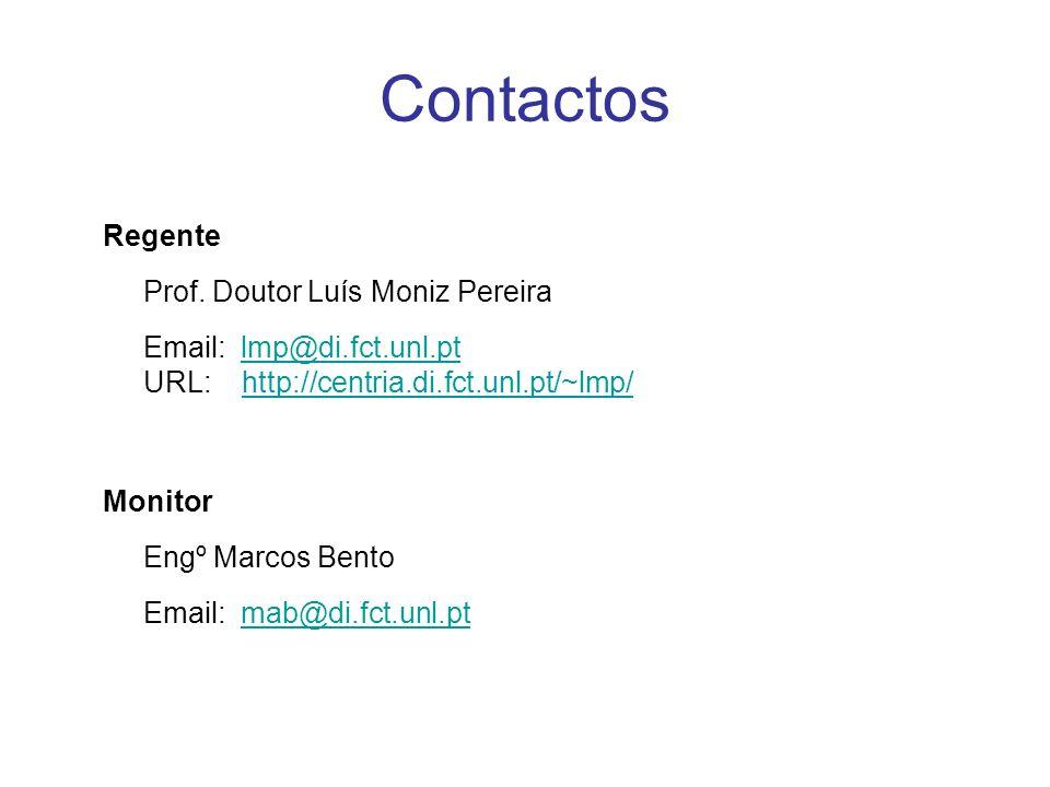 Contactos Regente Prof.