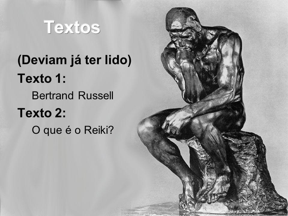 Qual é a conclusão de cada texto? Textos 1 e 2