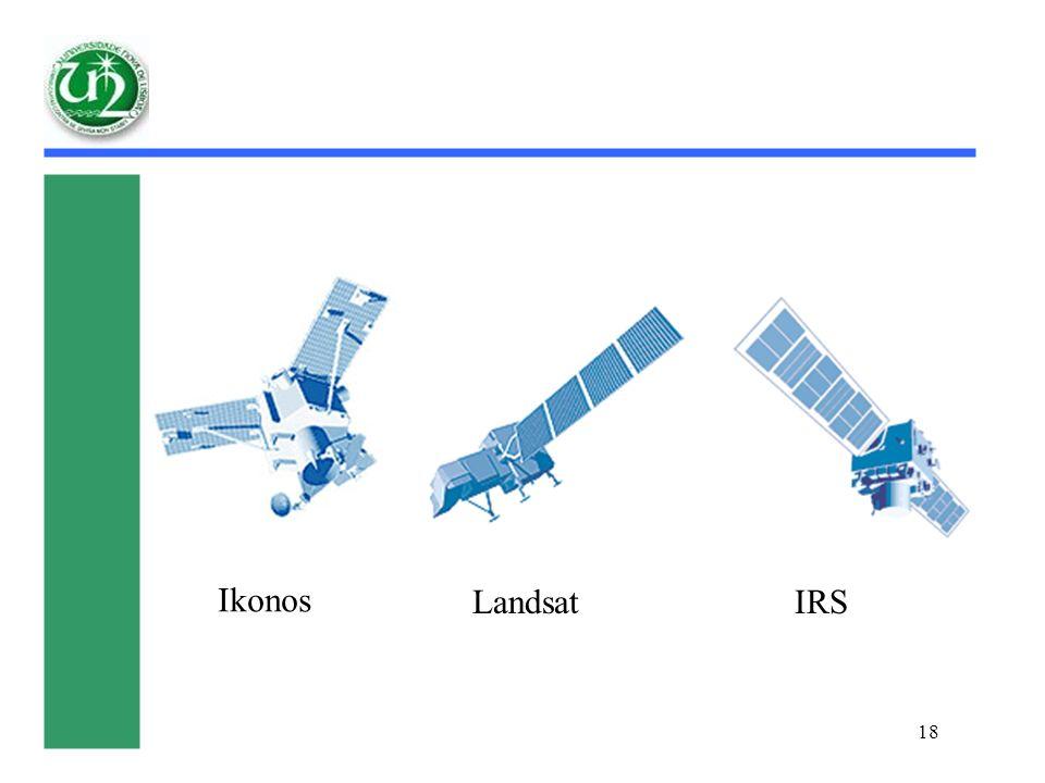 18 Ikonos LandsatIRS