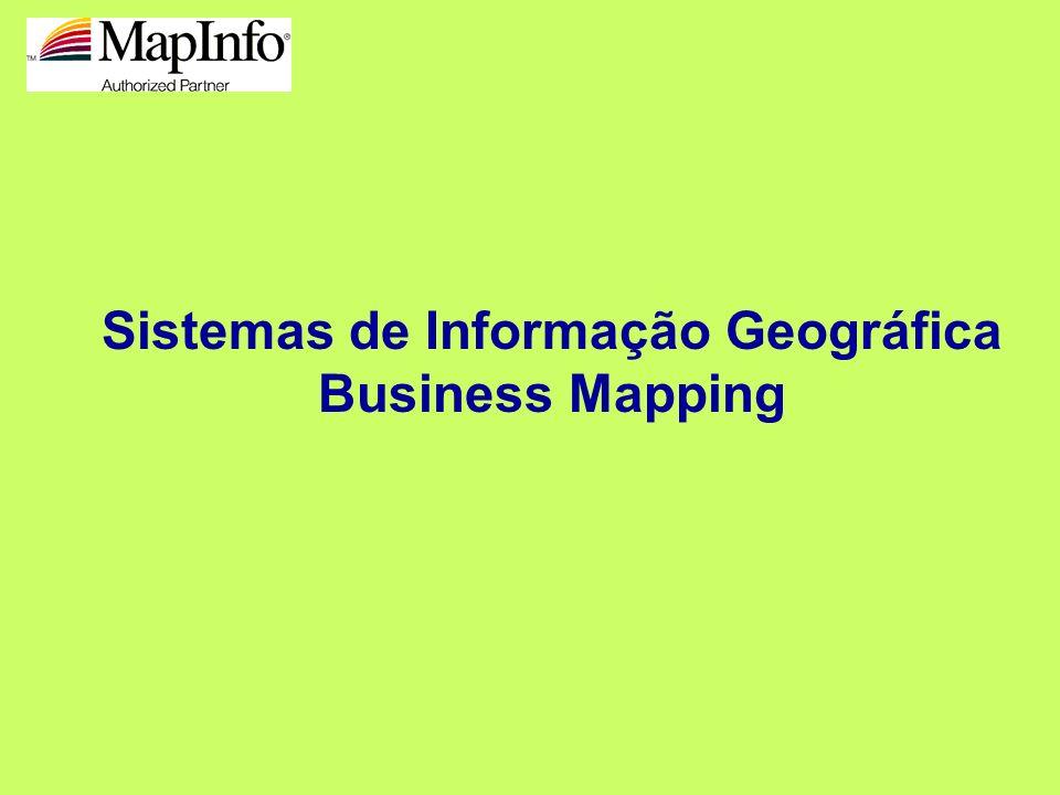 Sistemas de Informação Geográfica Business Mapping