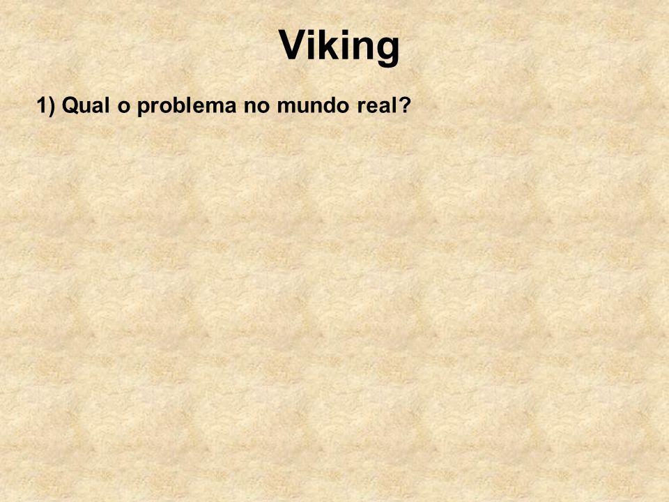 Viking 1) Qual o problema no mundo real?