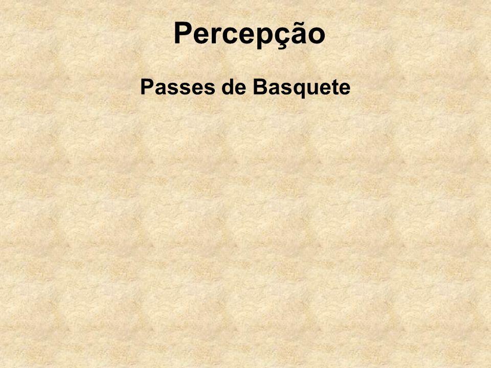 Percepção Passes de Basquete