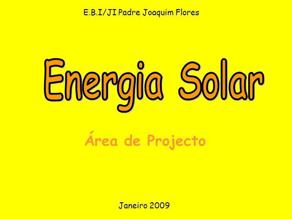 E.B.I/JI Padre Joaquim Flores Área de Projecto Janeiro 2009