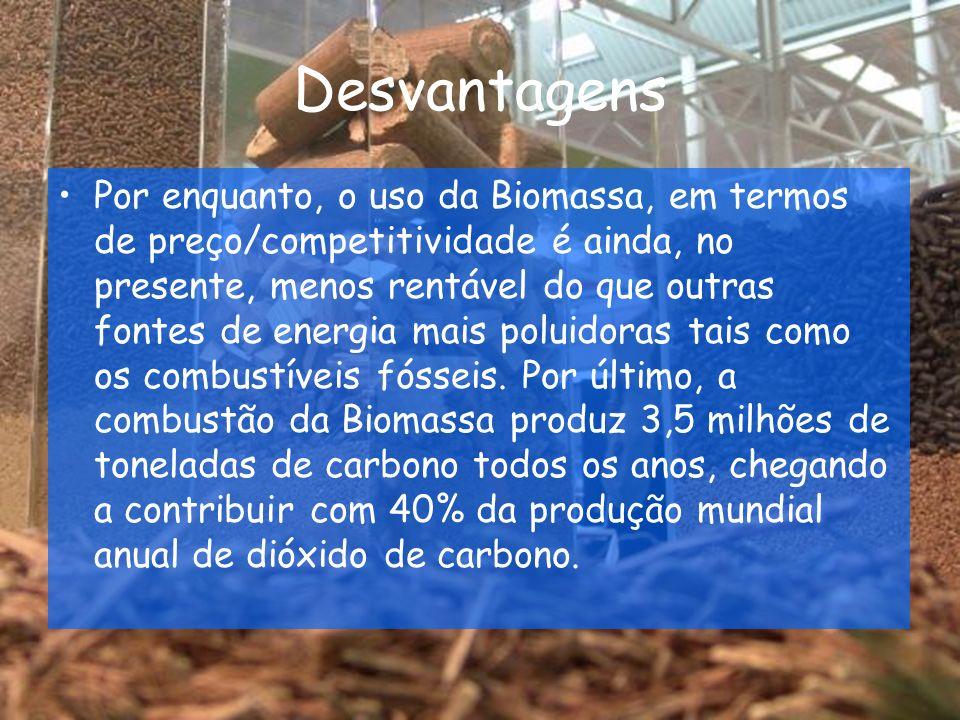 A Biomassa em Portugal Portugal não está de costas viradas para este importante recurso energético.