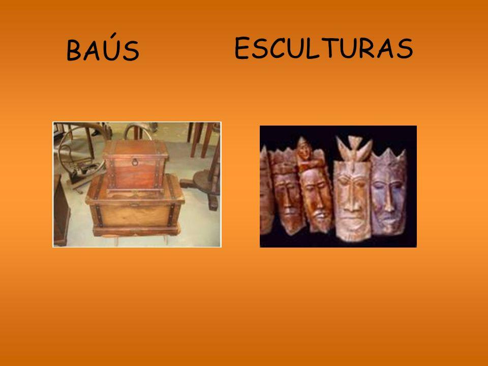 BAÚS ESCULTURAS